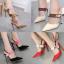 รองเท้าส้นสูง ไซต์ 35-40 สีดำ/แดง/ทอง/ครีม thumbnail 1