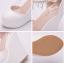 รองเท้าส้นเตารีดเจ้าสาวสีขาว ไซต์ 34-41 thumbnail 5