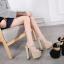 รองเท้าส้นสูง ไซต์ 34-40 สีดำ/ครีม thumbnail 5