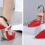 รองเท้าส้นสูง ไซต์ 35-40 สีดำ/แดง/ทอง/ครีม thumbnail 9