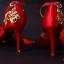 รองเท้าเจ้าสาวสีแดงแต่งดีเทลสวย ไซต์ 34-39 thumbnail 5