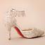 รองเท้าเจ้าสาวสีขาวแต่งคริสตัลงานหรู ไซต์ 34-39 thumbnail 5