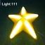 ไฟประดับ ไฟดาวใหญ่ สีเหลือง cl-024 thumbnail 3