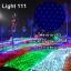 ไฟตาข่าย LED ขนาดใหญ่ 3x3 m สีฟ้า (กระพริบ) thumbnail 1