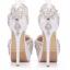รองเท้าเจ้าสาวสีขาวติดคริสตัลเพชร์ ไซต์ 34-41 thumbnail 2