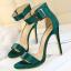 รองเท้าส้นสูง ไซต์ 34-39 แดงเข้ม/ดำ/เขียว/ชมพูเข้ม/ชมพูอ่อน/ขาว/เงิน/แดงส้ม thumbnail 4