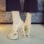 รองเท้าส้นสูงแบบสวมสีดำ/น้ำตาล ไซต์ 34-39 thumbnail 7