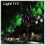 ไฟดาวตก LED 80 cm. สีขาว (ไฟฝนดาวตก) thumbnail 5