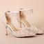 รองเท้าเจ้าสาวสีขาวแต่งคริสตัลงานหรู ไซต์ 34-39 thumbnail 6