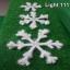โฟม เกล็ดหิมะ 3 ชั้น (กากเพชร) cl-507 thumbnail 7