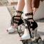 รองเท้าส้นสูงสีดำ/ดำ-ขาว ไซต์ 34-39 thumbnail 7