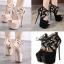 รองเท้าส้นสูง ไซต์ 35-40 สีดำ สีครีม thumbnail 1