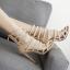 รองเท้าส้นสูงสีครีม/ดำ ไซต์ 35-40 thumbnail 7