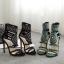 รองเท้าส้นสูงสีเขียว/ดำ ไซต์ 35-40 thumbnail 9