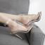 รองเท้าส้นสูงสีเงินประดับคลิสตัล ไซต์ 35-40 thumbnail 10