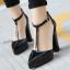 รองเท้าส้นสูงสีขาว/ดำ ไซต์ 35-40 thumbnail 3