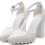รองเท้าส้นสูงสีขาว/ดำ ไซต์ 35-40 thumbnail 6