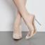 รองเท้าส้นสูงแบบสวมปลายแหลมพลาสติกใส ไซต์ 35-40 thumbnail 3