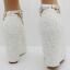 รองเท้าเจ้าสาวส้นเตารีดสีขาวมุข/ชมพู ไซต์ 34-42 thumbnail 6