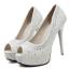 รองเท้าส้นสูง ไซต์ 34-39 สีดำ/ขาว thumbnail 6