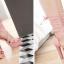 รองเท้าส้นสูงสีหวานชมพู/แดง/ดำ/ครีม ไซต์ 34-40 thumbnail 7