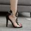 รองเท้าส้นสูงสีดำ ไซต์ 35-40 thumbnail 3