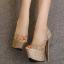 รองเท้าส้นสูง ไซต์ 34-40 สี : ทอง/เงิน/ดำ thumbnail 8