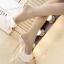 รองเท้าส้นสูงส้นแก้วคริสตัลแบบสวมสีทอง/ขาว ไซต์ 34-39 thumbnail 5