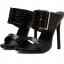 รองเท้าส้นสูงแบบสวมสีดำ/ขาว ไซต์ 35-40 thumbnail 7