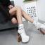 รองเท้าบูท ไซต์ 34-40 สีขาว/ดำ thumbnail 5