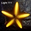 ไฟประดับ ไฟดาวใหญ่ สีเหลือง cl-024 thumbnail 1