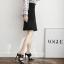 รองเท้าส้นสูงแบบสวมสีดำ/ขาว ไซต์ 35-40 thumbnail 6