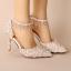 รองเท้าเจ้าสาวสีขาวแต่งคริสตัลงานหรู ไซต์ 34-39 thumbnail 1