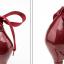 รองเท้าส้นสูงเก็บทรงผ้ารัดข้อผูกสีแดง/ดำ/เงิน/น้ำเงิน ไซต์ 34-39 thumbnail 14