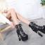 รองเท้าบูท ไซต์ 34-40 สีขาว/ดำ thumbnail 3