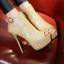 รองเท้าส้นสูงสีทอง/เงิน/แดง/ดำ ไซต์ 34-43 thumbnail 8