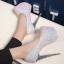 รองเท้าส้นสูงเก็ดกลิ๊กเตอร์สีฟ้า/ม่วง/ทอง/ชม ไซต์ 34-43 thumbnail 5