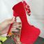 รองเท้าส้นสูงส้นเข็ม ไซต์ 34-39 สีแดง/ดำ thumbnail 9