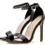 รองเท้าส้นสูงแบบเรียบแต่สวยหรูสีดำ ไซต์ 35-40 thumbnail 5