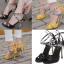 รองเท้าส้นสูงสีเหลือง/ดำ ไซต์ 35-40 thumbnail 1