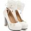 รองเท้าส้นสูงคัดชูสีชมพู/ดำ/ขาว ไซต์ 34-43 thumbnail 9