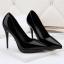รองเท้าตัดชูปลายแหลมทรงสวยสีดำ/แดง/เทา/นู๊ด ไซต์ 34-39 thumbnail 10