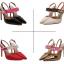 รองเท้าส้นสูง ไซต์ 35-40 สีดำ/แดง/ทอง/ครีม thumbnail 10