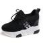 รองเท้าผ้าใบเสริมส้น ไซต์ 35-39 สีขาว/ดำ thumbnail 10