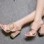 รองเท้าส้นหนาแบบสวมสีนู๊ด/ดำ ไซต์ 34-40 thumbnail 3
