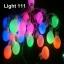ไฟปิงปอง 20 led สีรวมcl-033 thumbnail 3