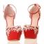 รองเท้าเจ้าสาวสีแดง ไซต์ 34-39 thumbnail 7