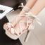 รองเท้าส้นสูงสีหวานชมพู/แดง/ดำ/ครีม ไซต์ 34-40 thumbnail 2
