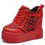 รองเท้าผ้าใบเสริมส้นสีแดง/ดำ/ขาว ไซต์ 34-39 thumbnail 11