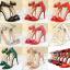 รองเท้าส้นสูง ไซต์ 34-39 แดงเข้ม/ดำ/เขียว/ชมพูเข้ม/ชมพูอ่อน/ขาว/เงิน/แดงส้ม thumbnail 1